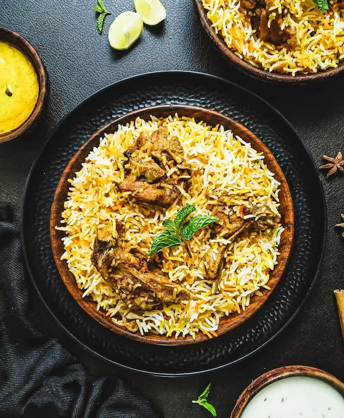 Mutton Biryani Recipe | Breakfast Care