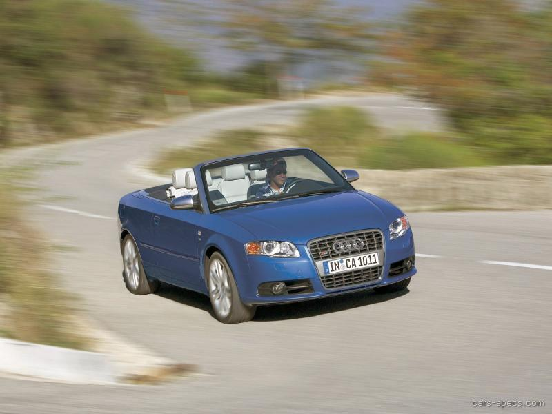 2006 audi s4 convertible specifications pictures prices. Black Bedroom Furniture Sets. Home Design Ideas