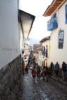 Narrow City Streets (Cusco, Peru)