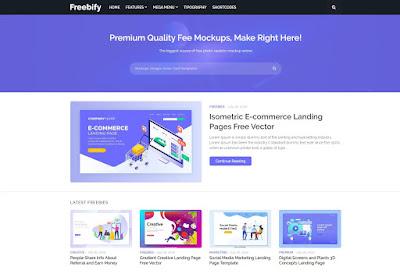 freebify premium blogger theme download