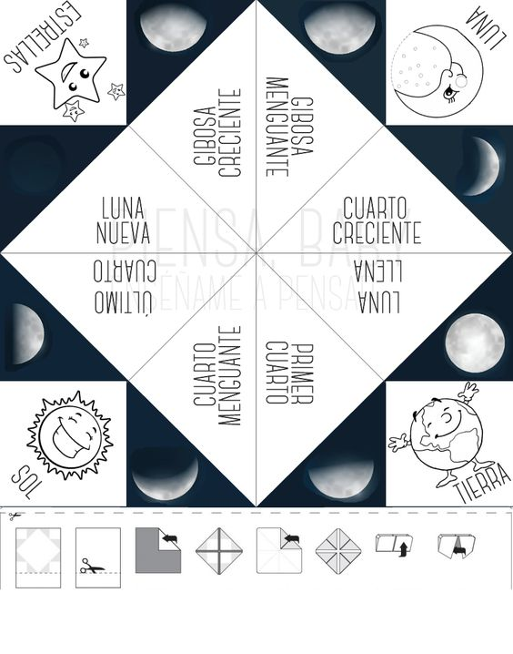 fases de la luna para niños5