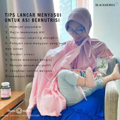 Tips Lancar Menyusui