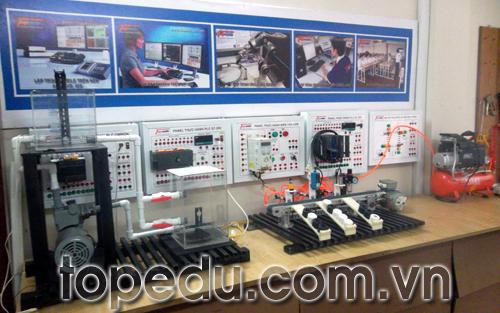 TopEdu nâng cấp, cải tiến thiết bị thực hành tự động hóa, tủ điện
