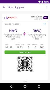 HK Express - náhled
