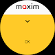screenshot of maxim — order taxi, food and groceries delivery