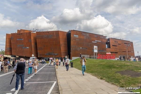 Budynek Europejskiego Centrum Solidarności w Gdańsku