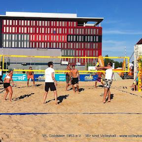 Osthafenfest - Beachvolleyballturnier für Vereinsmannschaften
