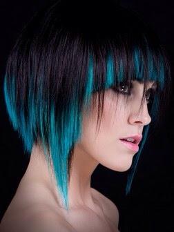 Colores de pelo atrevidos y actuales