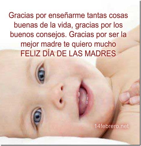 feliz dia de la madre e