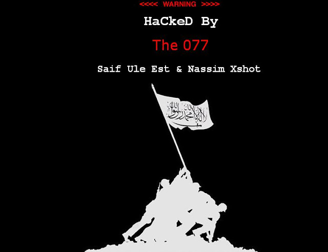 Mafia-country.cz.cc & Syriatourism.org Hacked by The 077 ( Hamdi HaCker )