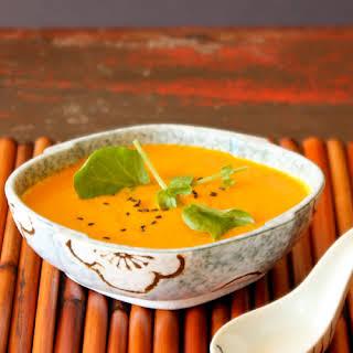 Carrot, Ginger, Pineapple Detox Soup.