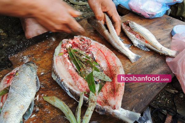 Cá suối nướng