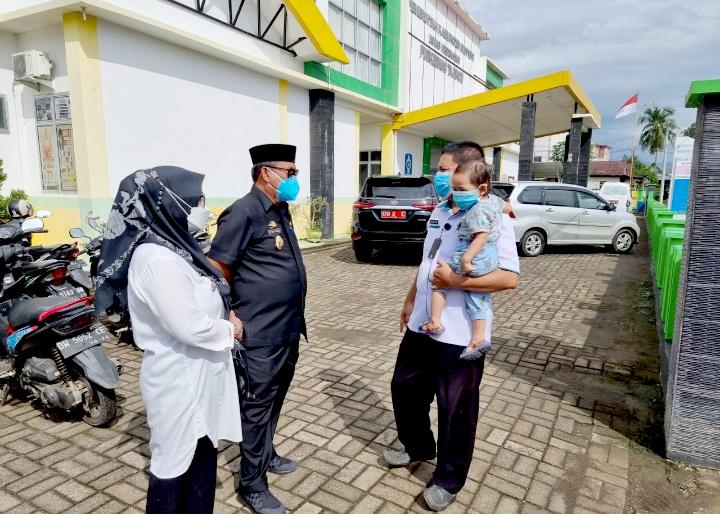 LHD Kunjungan Ke Puskesmas Donri-Donri Pantau Vaksinasi Covid-19