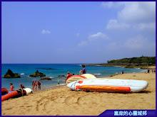 墾丁沙灘、香蕉船