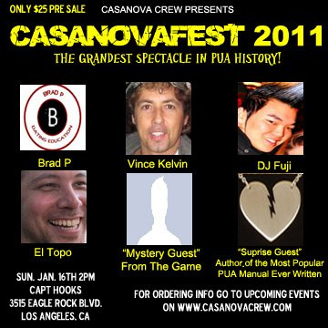Casanovafest 2011, Casanova Crew