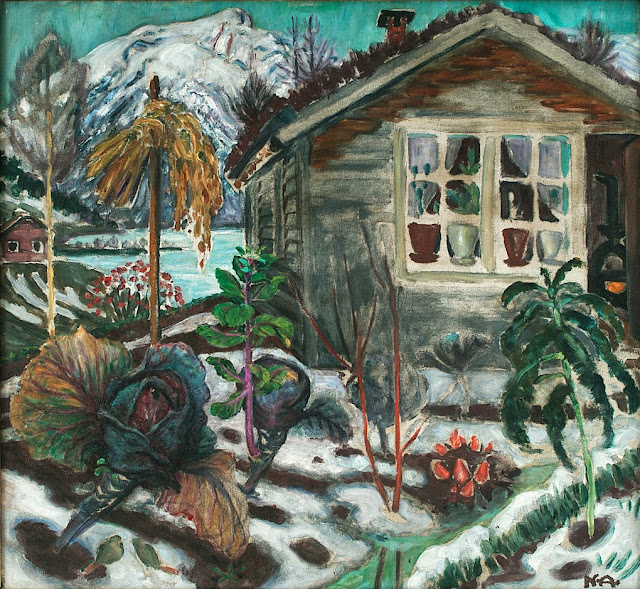 Nikolai Astrup - Early Snow
