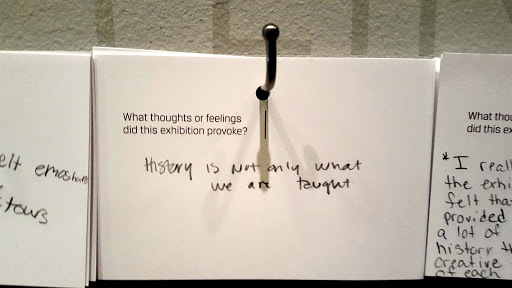History is not only what we are taught.  From Love, Change, and the Expression of Thought: 30 Americans at the Detroit Institute of Arts