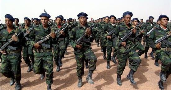 Los jóvenes saharauis decididos a seguir la lucha armada hasta la independencia.