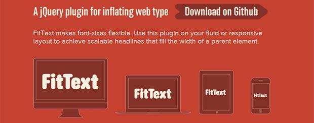 JavaScript-FitText