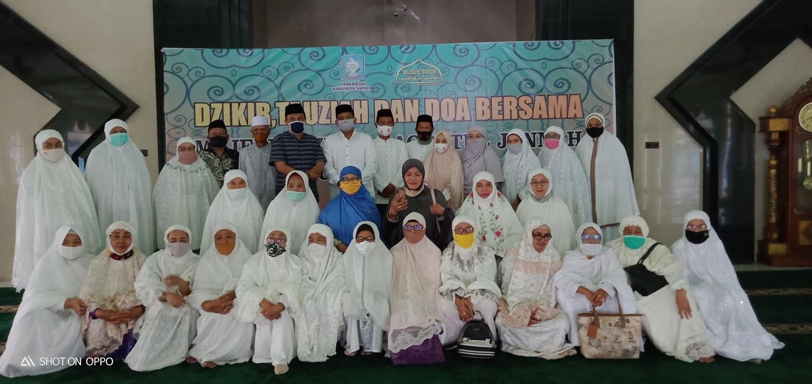 Giat Doa, DZikir, dan Tausiah di Delapan Kecamatan Kabupaten Soppeng