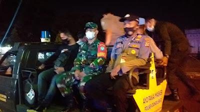 TNI Polri dan Aparat Pemerintah Laksanakan Patroli Gabunga