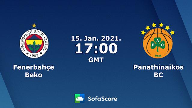 ΦΕΝΕΡΜΠΑΧΤΣΕ – ΠΑΝΑΘΗΝΑΪΚΟΣ   Fenerbahce vs Panathinaikos    live streaming