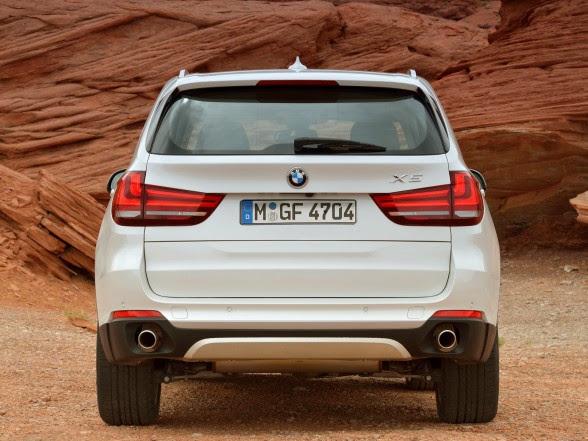 2014 BMW X5 - xDrive30d - Rear