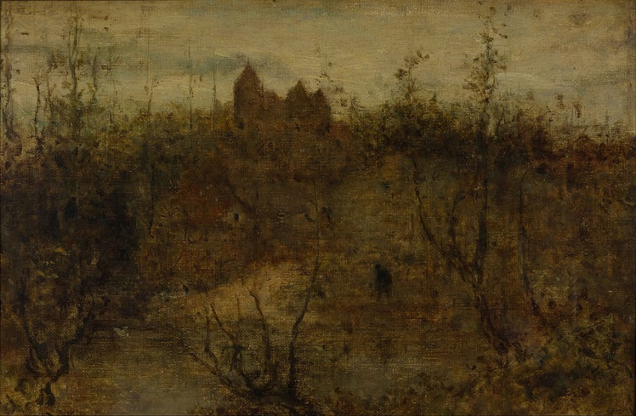 Matthijs Maris - The enchanted castle - Google Art Project