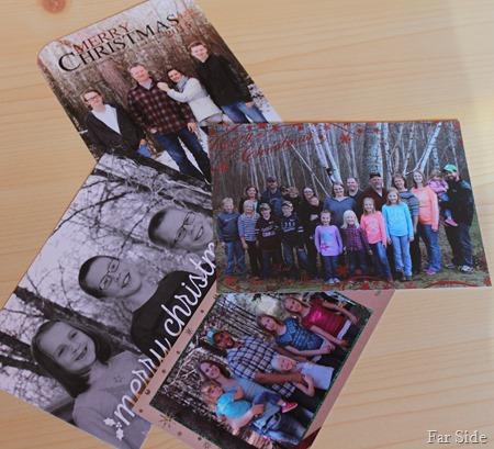 Photos I took on cards