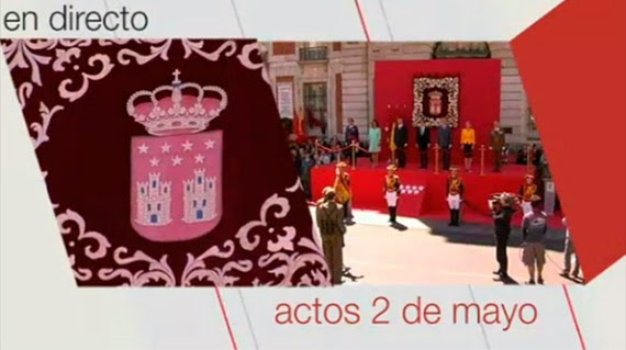 Actos del 2 de mayo, en Telemadrid