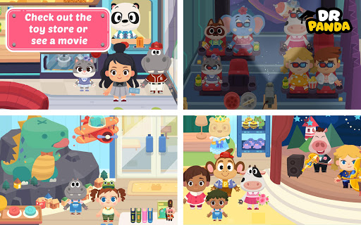 Dr. Panda Town: Mall 1.3 screenshots 10