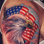 great arm flag - tattoo designs