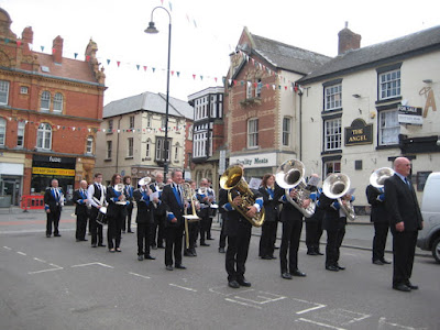 Will Newtown host the largest massed band in Wales?