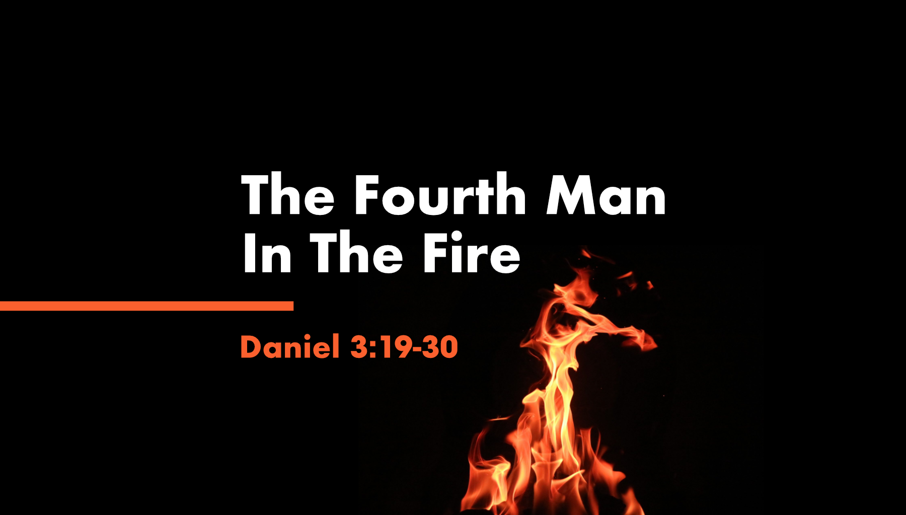 The Fourth ManIn The Fire