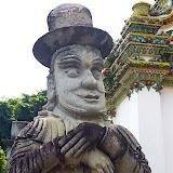 Statue at Temple of Emerald Buddha (Wat Phra Kaew) - 1. Bangkok