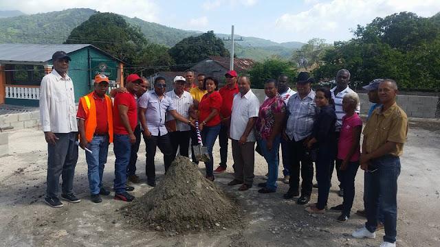 Polo: Alcaldesa Danilsa Cuevas inicia construcción casa de la cultura
