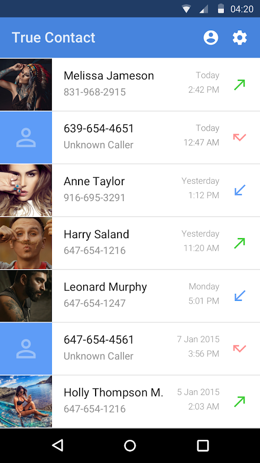 True Contact - Real Caller ID- screenshot