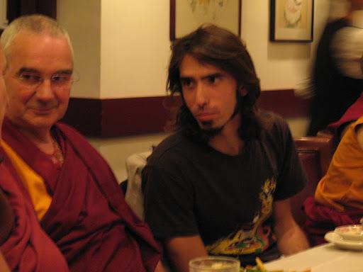 Ven.Roger Kunsang and Osel