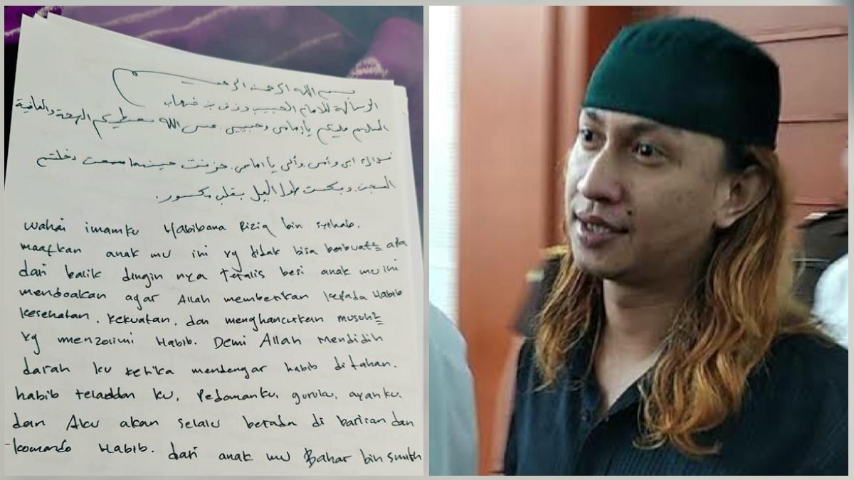 Baru Tahu Habib Rizieq Dipenjara, Habib Bahar Tulis Surat dari Balik Jeruji: Mendidih Darahku!