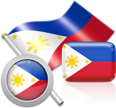 Philippine flag icons pictures collection