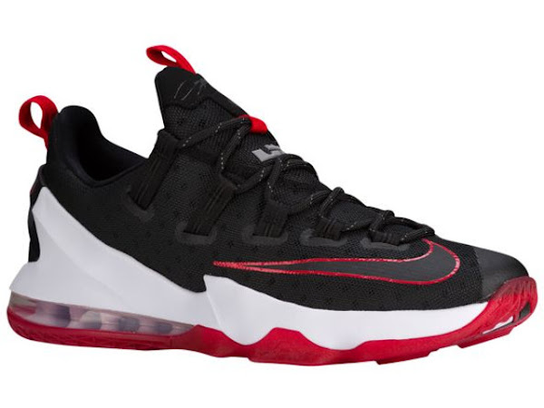 Available Now Nike LeBron 13 Low Black amp Red
