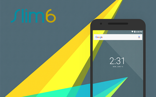 Download Custom Rom Upgrade to Marshmallow 6.0 by SlimRoms (Slim 6) 1