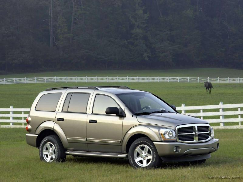 2006 dodge durango suv specifications pictures prices. Black Bedroom Furniture Sets. Home Design Ideas