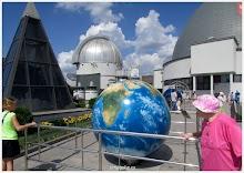 На астрономической площадке Московского планетария.