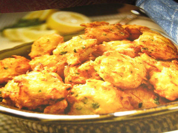 Crab Fritters Recipe