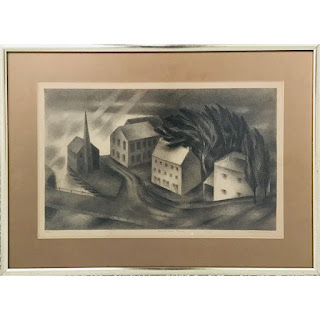 Albert Heckman Signed Lithograph