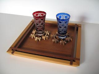 トレースクウェア (M) チーク  tea tray square (M) teak