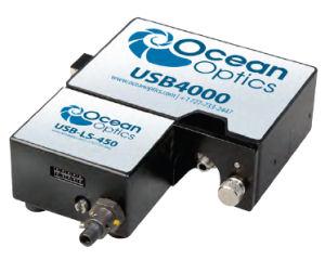 USB4000-FL 小型光ファイバー蛍光検出器