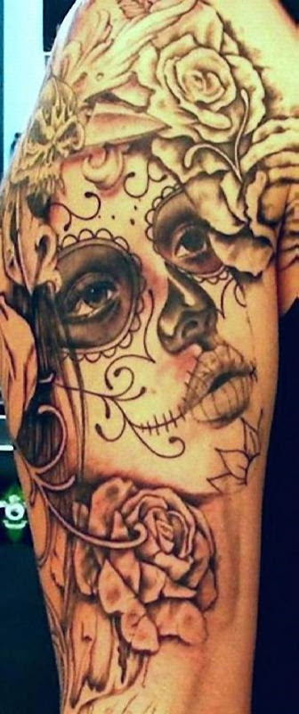 meia_manga_o_dia_dos_mortos_la_calavera_catrina_tatuagem