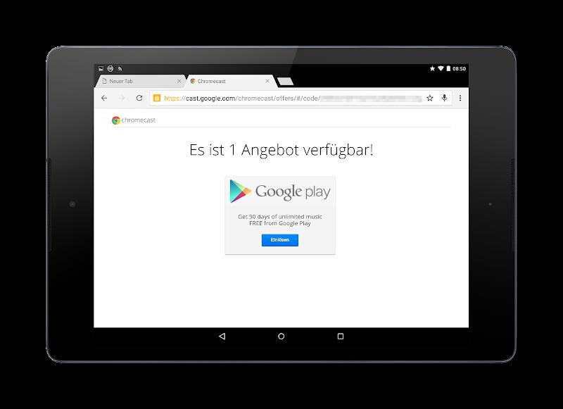 Angebote für Chromecastbesitzer